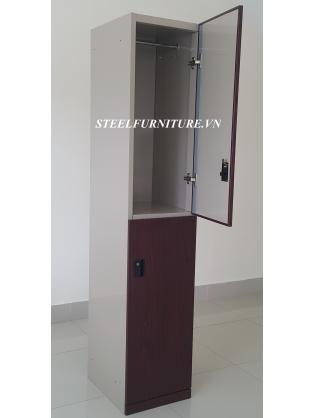 Wooden Door Locker