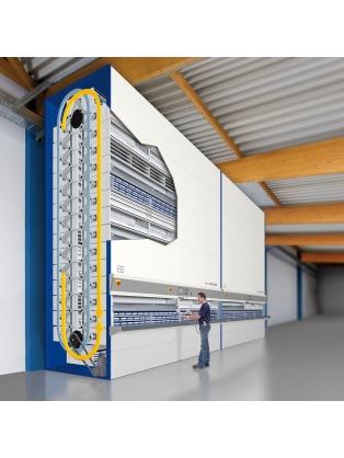 Electrical Carousel Storage