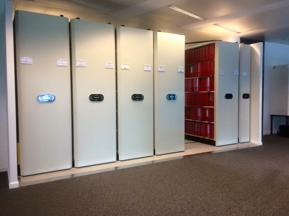 Electrical Mobile Shelving